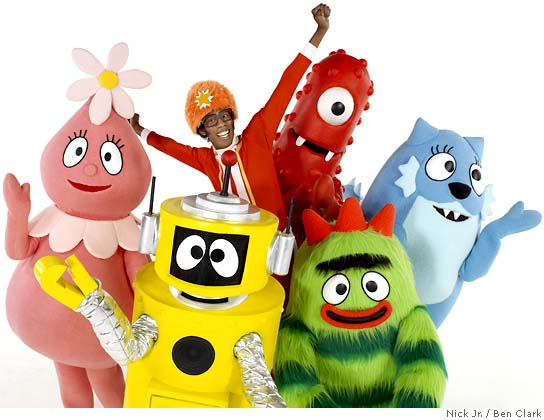 The Yo Gabba Gabba! gang