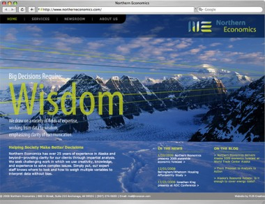 Northern Economics homepage